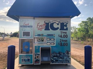 High Revenue Automated Ice & Filtered Water Vending Machine Business