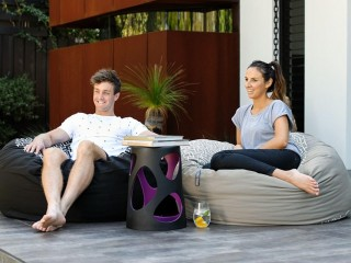 Bag2Bed - luxurious foam filled bags that easily convert into comfortable beds