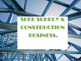 Sheds, Garages and Carports Supplier business Hervey Bay SS