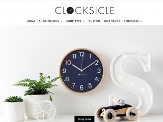 Clocksicle - online business selling purpose-made clocks for kids