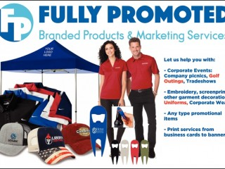 NEW Fully Promoted (Embroid Me) Franchise Opportunity in Darwin! 350 stores internationally!